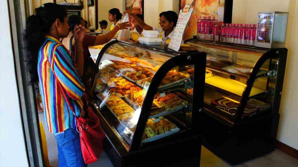 スリランカのパン屋さん