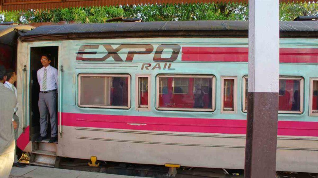 スリランカの鉄道 EXPO RAIL