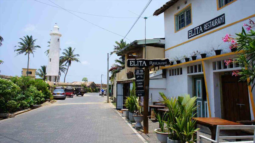 スリランカのゴール旧市街