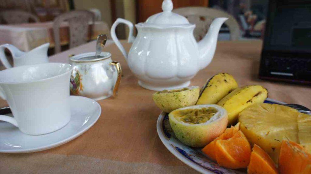 フィンランカホテルの朝食2