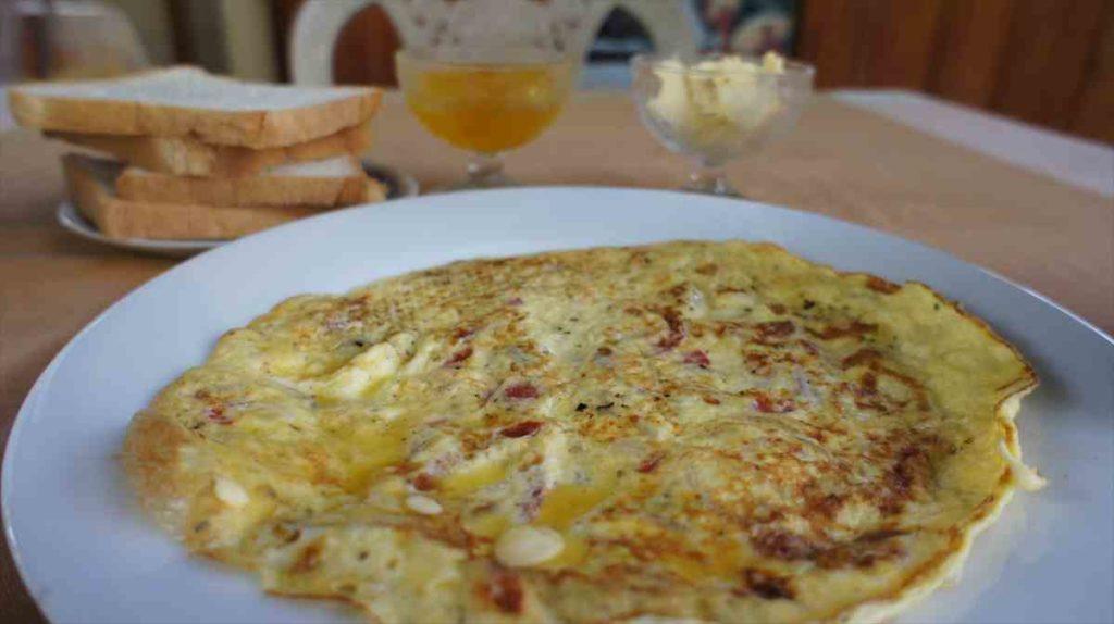 フィンランカホテルの朝食1