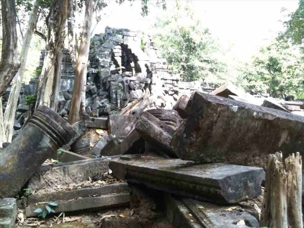 ベン・メリアの崩壊した遺跡