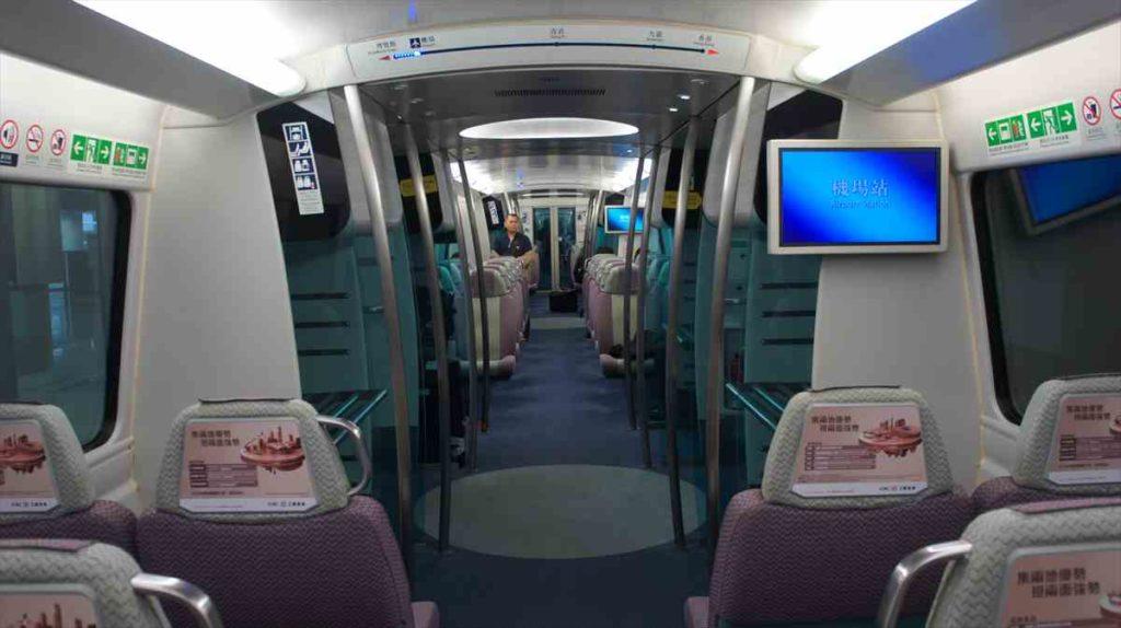 香港空港からセントラル
