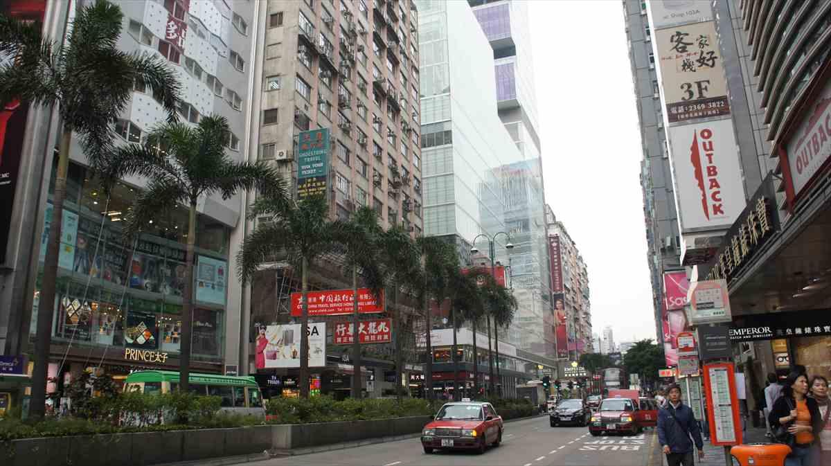 香港の尖沙咀
