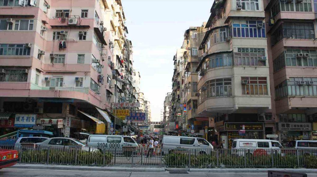 香港の栄えてない方