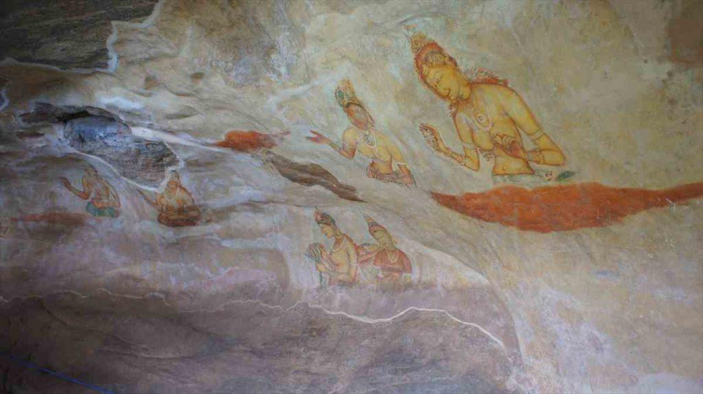 シーギリヤレディの壁画