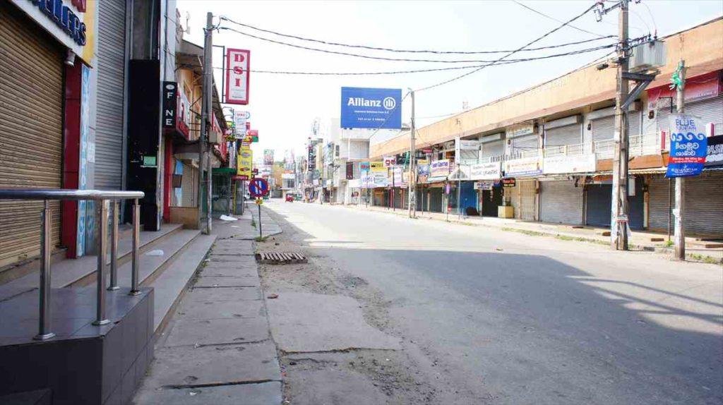 ニゴンボの街中