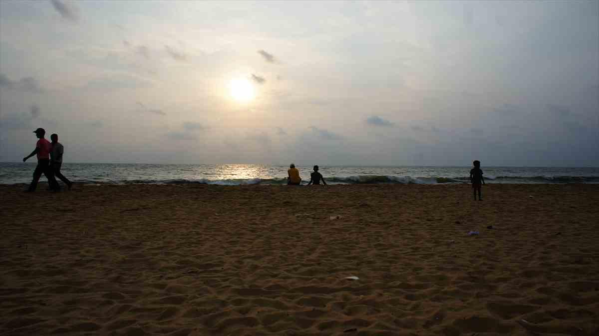 ニゴンボのビーチ
