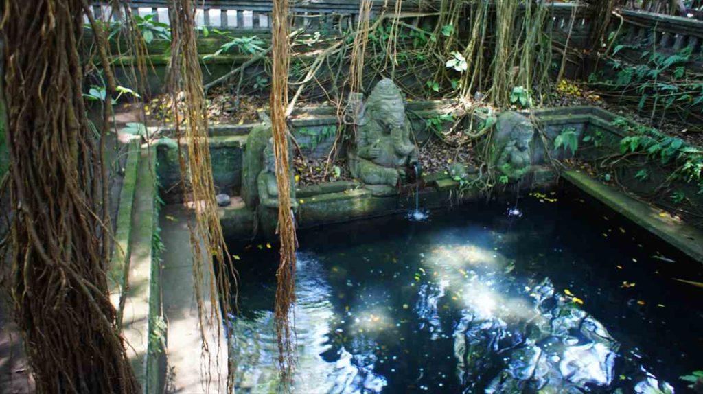 モンキー・フォレストにある神様の沐浴場