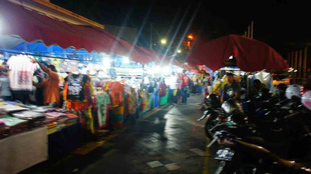 ジョグジャカルタのマリオボロストリート