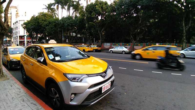 台北でタクシーをチャーターする