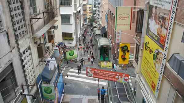 香港ヒルサイドエスカレーター