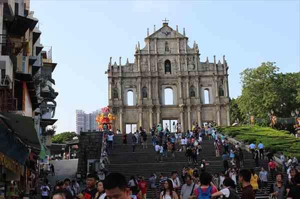 香港からマカオの世界遺産