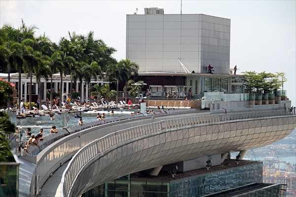 シンガポールひとり旅マリーナベイサンズ