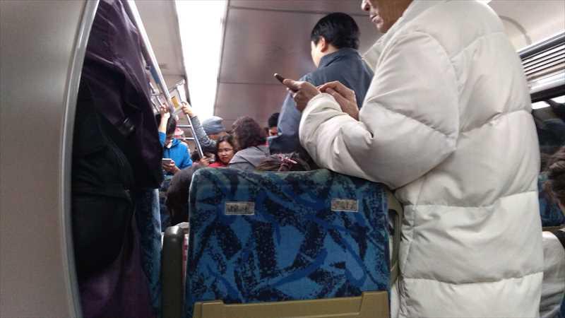 平溪天燈節から台北まで電車で帰る方法