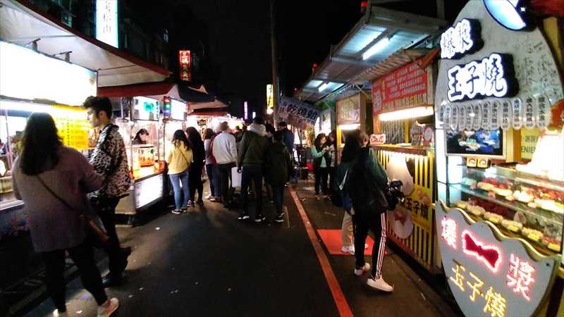 饒河街夜市は夜市でグルメを楽しむのにおすすめ