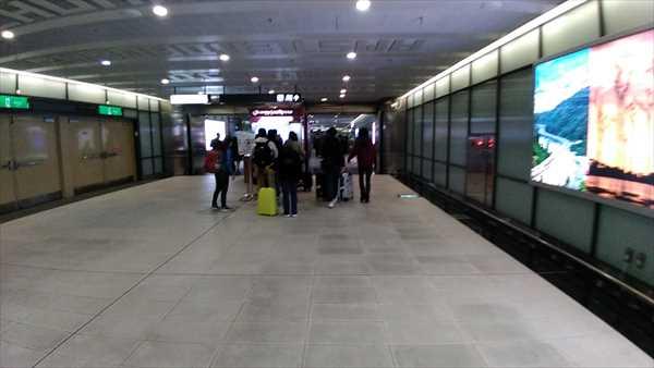 桃園空港のKKday引き換え窓口