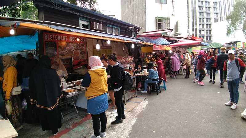 台北でインドネシア料理やマレーシア料理が楽しめる