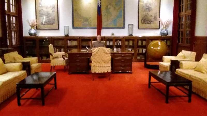 中正紀念堂の蒋介石執務室