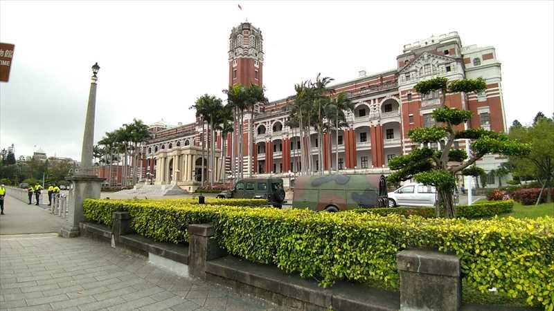 台湾の総統府見学は午前中のみできる