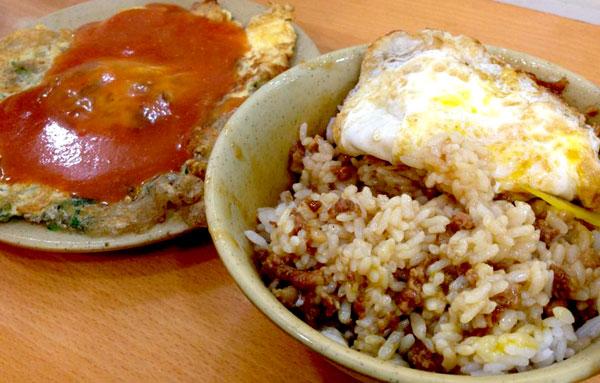 西門エリアで人気の魯肉飯・天天利美食坊