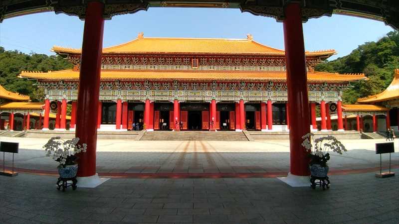 台北の忠烈祠