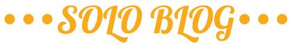 SOLO BLOG - ソロブログ