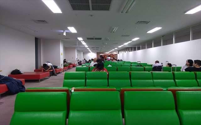 関西空港の無料の仮眠所